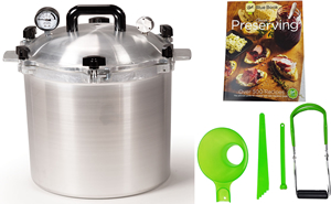 All American Pressure Cooker 925 25 Quart Canning Kit
