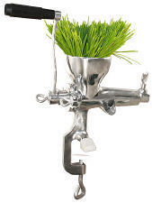 Weston Stainless Steel Wheat Grass Juicer