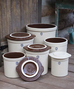 Stoneware Preserving Covers